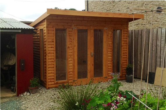 10x8 Timber Garden Office - North Yorkshire