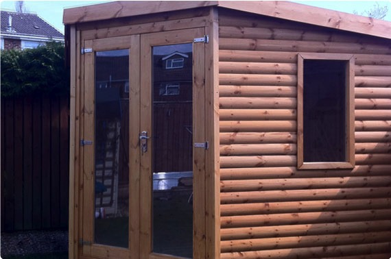 9x9 Garden Office - North Yorkshire
