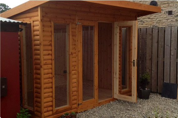 Timber Garden Office - North Yorkshire